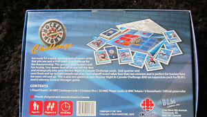 VINTAGE HOCKEY NIGHT IN CANADA  BOARD CARD GAME CBC SPORTS
