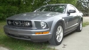 2006 Ford Mustang gray Coupe (2 door)