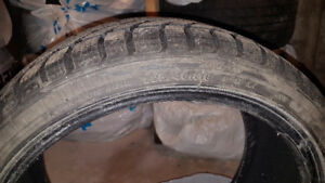 "18""  winter tires very good condition almost brand new"