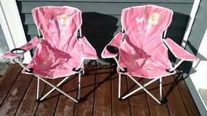 2 Foldable Barbie Chairs