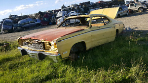 73 duster parts car- best offer !