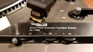 Technics SL-1900 record player redirect drive!