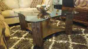 Beautiful rustic coffee table