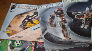 Nine Bionicle Lego Pattern Books, Lego Technic Kitchener / Waterloo Kitchener Area image 2