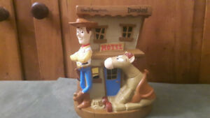 Toy Story Bank Walt Disney World Exclusive Hotel with Woody