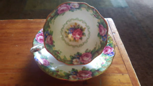 Paragon Double Warranted Teacup and Saucer.