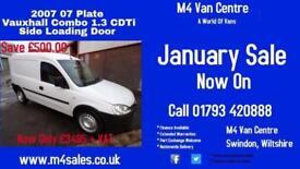 Vauxhall Combo 2000 CDTI 1.3 SWB