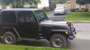 2002 Jeep TJ Coupe (2 door)