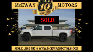 2012 GMC Sierra 2500 SLT Lifted Pickup Truck