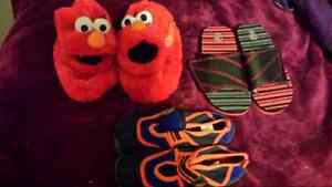 Elmo slippers, water shoes and sandels Peterborough Peterborough Area image 1
