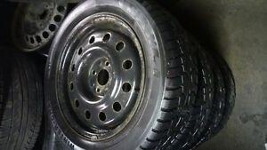 195 60 15 winter tires on rims