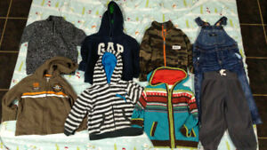 Box of 18 Month fall/winter clothes for boy