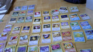 Collection of Dark Pokemon Cards