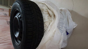 """15"""" Winter Tires on RIM  in Very Good Condition"""