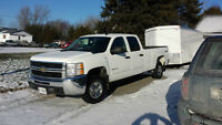 2010 Silverado 2500HD Crew Cab & 22ft enclosed trailer
