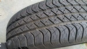 """""""1"""" NEW-235/65/17"""" Goodyear tire on rim,Never used."""