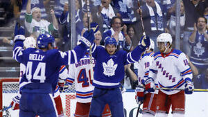 TORONTO MAPLE LEAF VS NEW YORK RANGERS ON DEC 22 AND 23