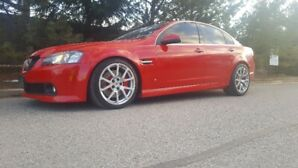 2009 Pontiac G8 Built up