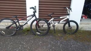2 bikes 1 subrosa, 1 redline