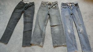 3 pairs boys size 10 Jeans. All in good condition.