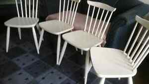 Four Ikea Dining Chairs