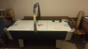 air hockey table... gently used.