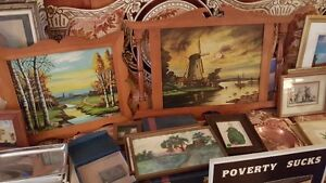 Vintage ART SALE Quality oil paintings various artists West Island Greater Montréal image 7