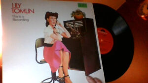 """LILY TOMLIN """"This Is A Recording"""" LP"""
