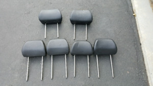 6 leather headrest for VW Golf Jetta