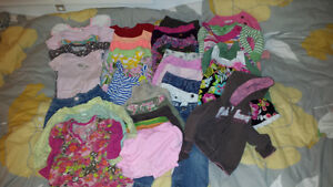 12 Month Girl's Clothing Lot
