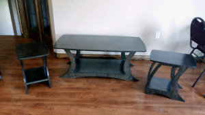 New Coffee table and 2 End tables forsale