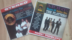 Two Platters Vinyl LP Records for one price