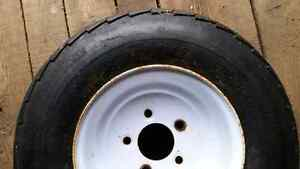 Trailer tire and rim never used