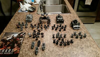 Warhammer 40K Chaos Space Marine Army Plus Codex and Carry Case