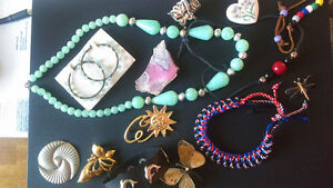 assorted jewelry-vintage, used, new-necklaces/chains/earrings...