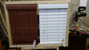 Solid Wood blinds . No tax. not faux(fake wood). premium quality