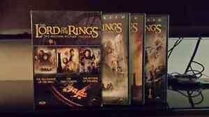 Lord of the rings trilogy dvd set