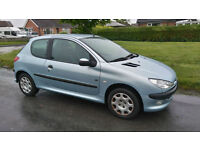 2004 PEUGEOT 206 1.4 FEVER ** LOW MILEAGE @57K, 1 OWNER FROM NEW **