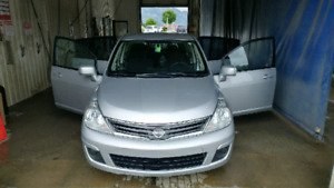 2010 Nissan Versa S 119000 kms. Clean car proof $5000. Excellent