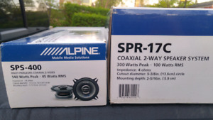Alpine type R and type S car speaker