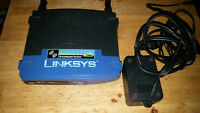 Used Linksys wireless G router