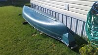 15.5' Square Back Canoe by Mackinaw