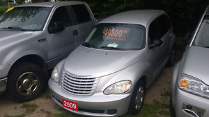 2009 chrysler pt cruiser  only 118 000km safety included