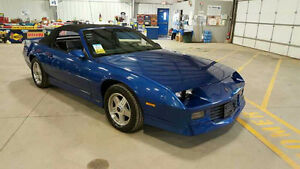 1989 Chevrolet Camaro R/S Convertible at Auction