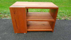 Small Solid Wood Shelving