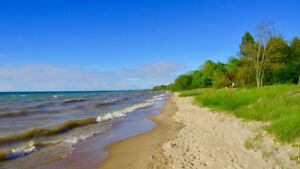 LUXURY COTTAGE ON DELUXE SANDY BRUCE BEACH (KINCARDINE)