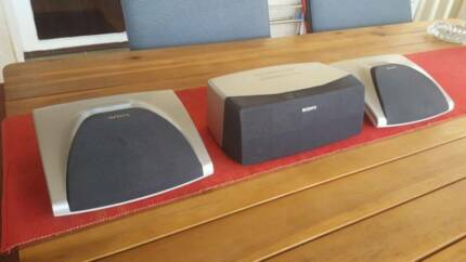 SONY 3XSURROUND SOUND SPEAKERS