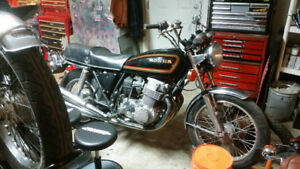 CB750 - COMPLETELY GONE THRU AND %100