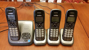 Cordless Home Phone Set and Answering Machine