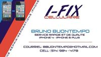 iPhone Repair Service- Charger port, Screen, Battery